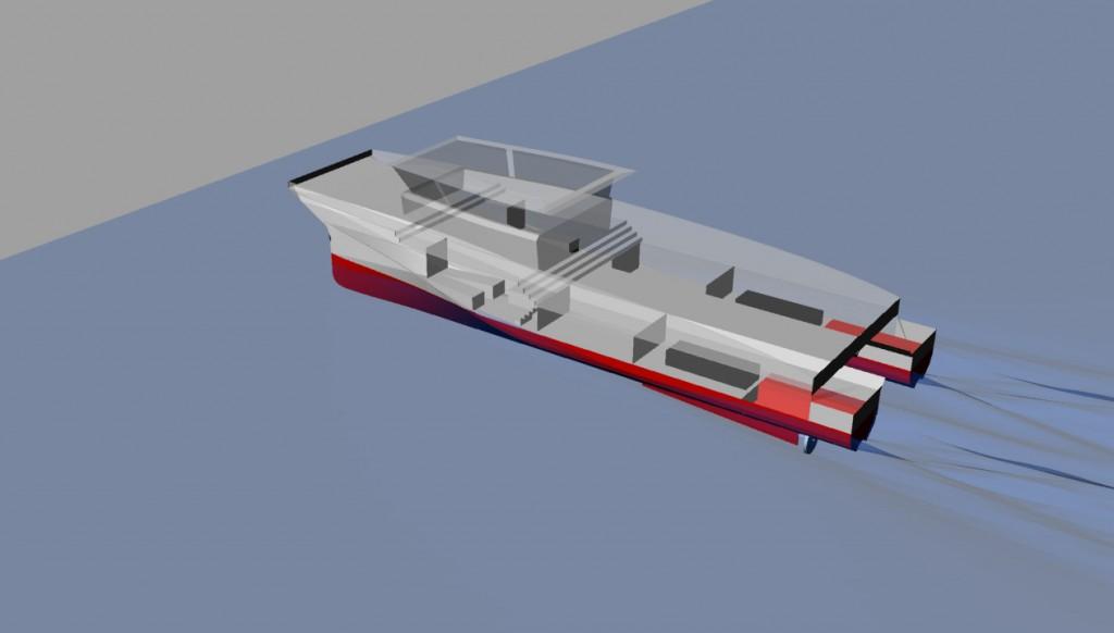 Deep-V Catamarans