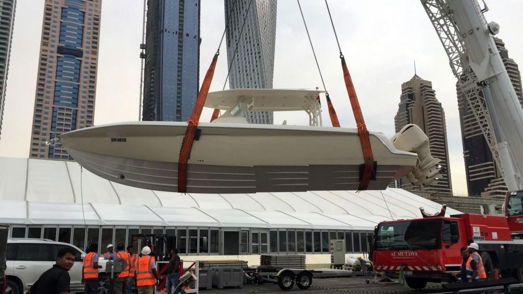 MEKY in Dubai Boat Show 2016